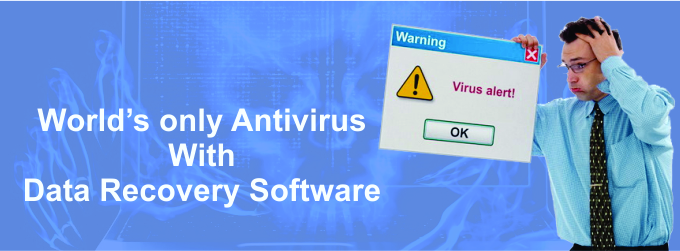 World's Only Antivirus Software with Data Recovery Software
