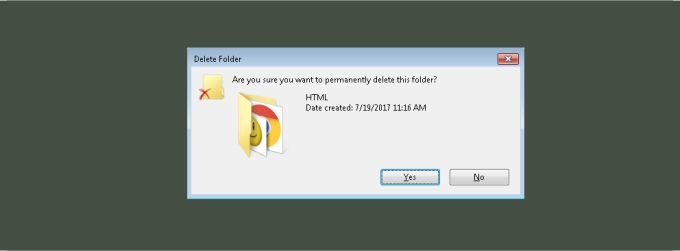 how to delete any file in windows