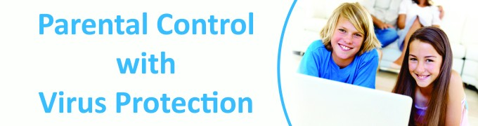 Parental Control with Virus Protection